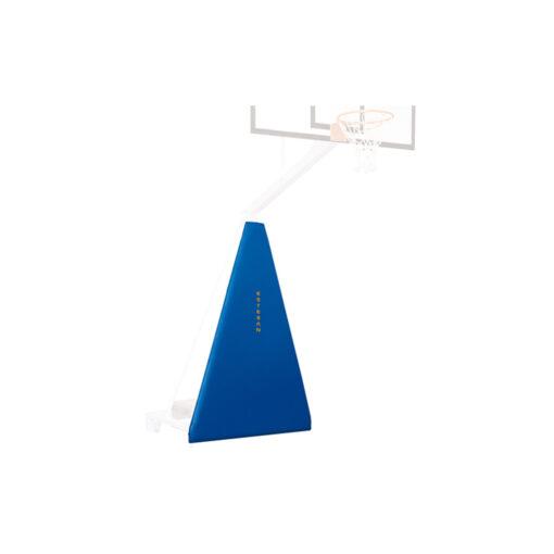 Protección frontal canasta baloncesto trasladable