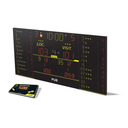 Marcador electrónico Bodet 8T325FS10