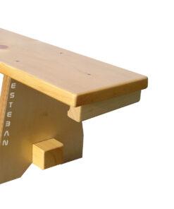 Detalle soporte espaldera banco GB27015 ESTEBAN